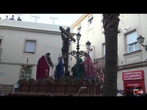 Palabras de amor - Salida extraordinaria Hermandad Siete Palabras (Cádiz)  75 aniversario  Plaza Canastas  4K  2019