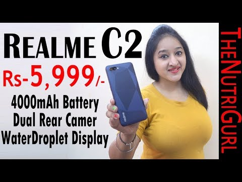 Realme C2 - Unboxing & Overview In HINDI(Indian Retail Unit)
