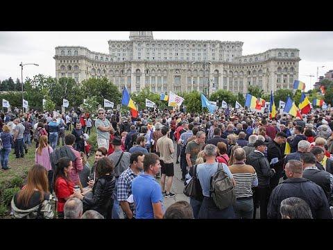 Δεν πέρασε πρόταση μομφής στο Βουκουρέστι – Στο δρόμο αντικυβερνητικοί διαδηλωτές…