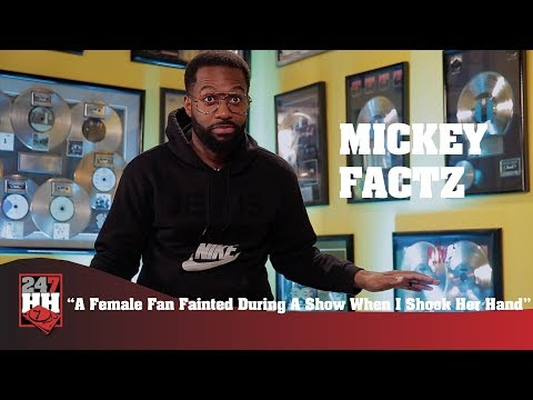 Mickey Factz - A Female Fan Fainted During A Show When I Shook Her Hand (247HH Wild Tour Stories)