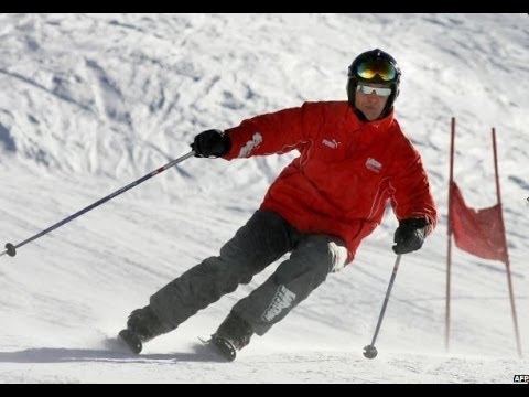 MICHAEL SCHUMACHER 'FIGHTING FOR HIS LIFE' - BBC NEWS
