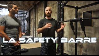 Présentation de la SAFETY Barre avec Sébastien au QG ATHLETIC CLUB !