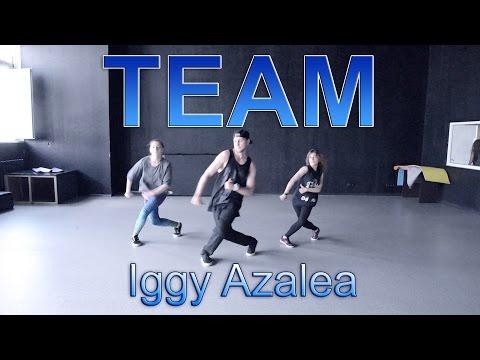 Iggy Azalea - Team (Dance Video) WORKSHOP BY @OLEGANIKEEV IN D.SIDE DANCE STUDIO VOL.35