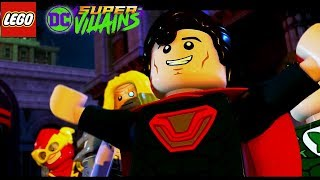Justice League Meets Justice Syndicate in LEGO DC Super Villains