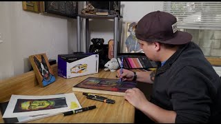 Blick Artists Serving Artists – Bradley Chapman with Prismacolor Markers and Pencils