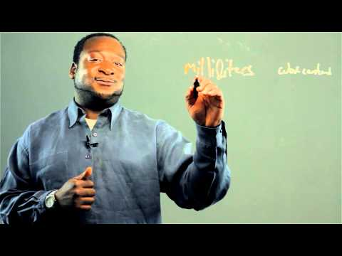 How to Convert Milliliters to Cubic Centimeters : Math Conversions