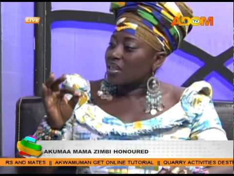 akumaamamazimbi - Akumaa Mama Zimbi honoured.