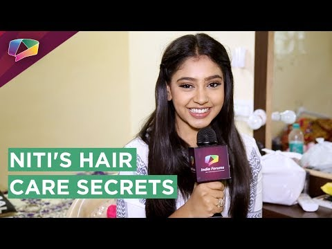 Niti Taylor Shares Her Hair Care Secrets