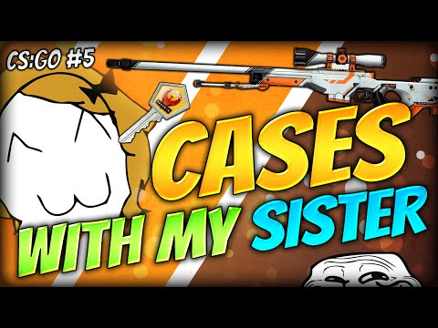 opening - Join me and my sister along with Simon and Baki as we unbox some more CS:GO Cases! Does my sister have the UNIQUE SISTER LUCK for the CS:GO Case openings? FIND OUT! :D ☆ Steam trade ...