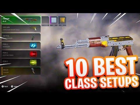 10 BEST CLASS SETUPS MODERN WARFARE REMASTERED! - BEST CLASS SETUP MWR! (BEST CLASSES MWR)