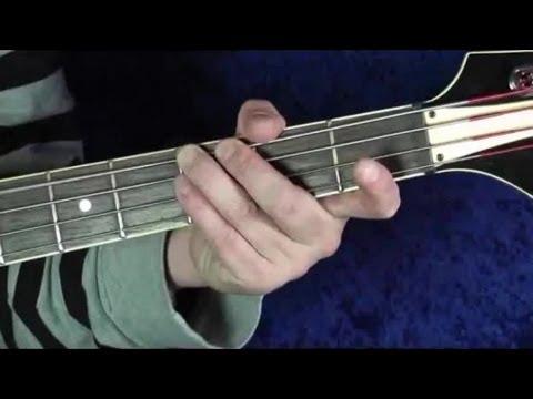 Hammer, E-Bass Kurs für Anfänger, Teil 1.2