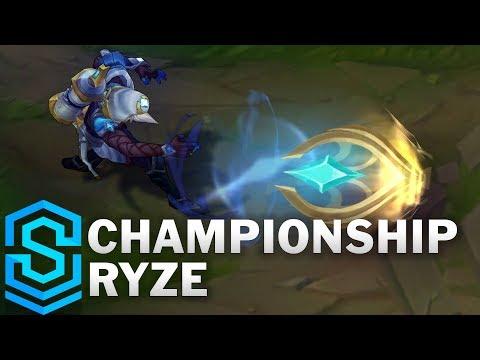 Ryze Quán Quân - Championship Ryze