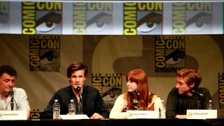 Doctor Who cast share their fantasy episodes - Comic-Con 2012, SDCC