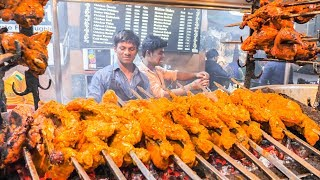 Download Youtube: INDIAN STREET FOOD Tour in LUCKNOW with MONSTER BBQ CHICKEN and CHEAP SPICY CURRY !