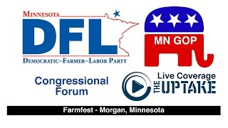 The first inter-party congressional debates of the political season happened Tuesday morning at Farmfest near Redwood Falls,...