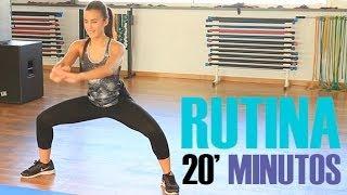 Rutina ejercicios para tonificar el cuerpo  20 minutos
