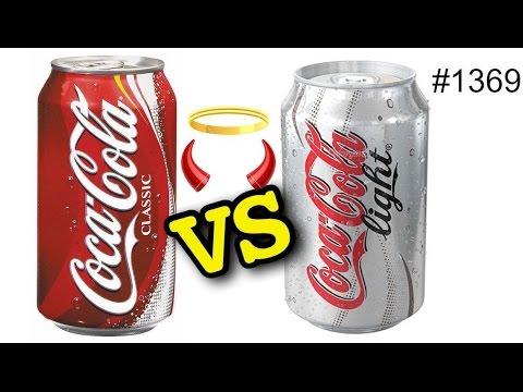 Смотреть онлайн: Что хуже — Кола Лайт или Coca Cola? 10 фактов что будет если сварить их обе!