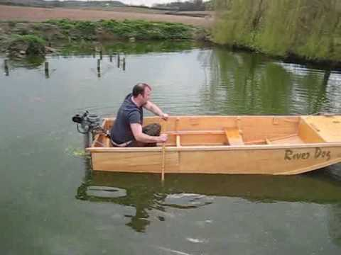 Homemade Boat Plans Boat launch river dog homemade