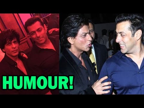Shahrukh Khan & Salman Khan's humorous conversation | Bollywood News