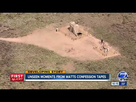 Unseen moments from the Chris Watts confession tapes