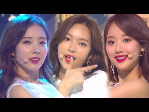 《Comeback Special》 APRIL(에이프릴) - The Blue Bird(파랑새) @인기가요 Inkigayo 20180318 (видео)