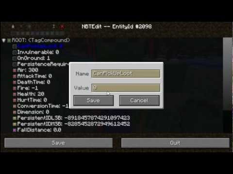 ingame - My newest mod for Minecraft Forge, In-Game NBTEdit, allows users to create and edit NBT Tags in-game. Topic: http://www.minecraftforum.net/topic/1558668-142f...