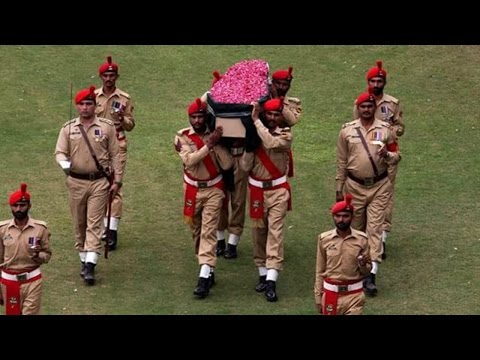 Abdul Sattar Edhi Funeral and Military Guard of Honour | Express News (видео)