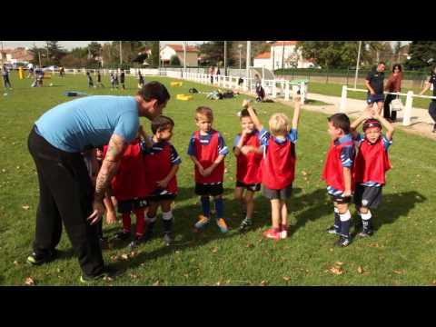 Entrainement - école de rugby