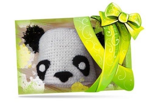 Adventskalender Türchen 14: Panda Mütze häkeln für Linkshänder