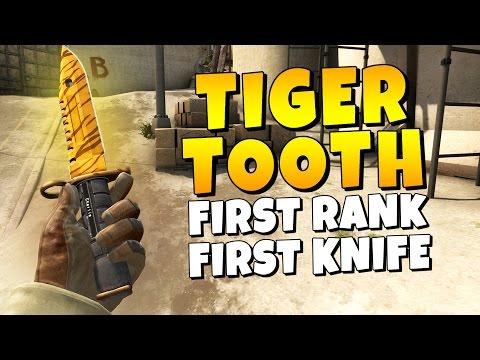 CSGO - First Rank & First Knife