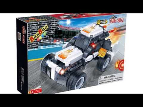 Video See the latest YouTube of Dragster Toy Building Set
