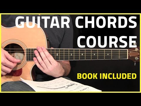 Guitar Chords (Complete Course) With Course Book!