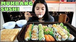 Video MUKBANG 48 SUSHI + ICE CREAM || MUKBANG INDONESIA MP3, 3GP, MP4, WEBM, AVI, FLV Juni 2018