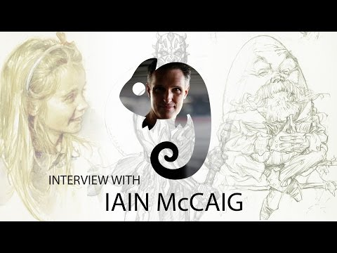 Artist Interview with Iain McCaig
