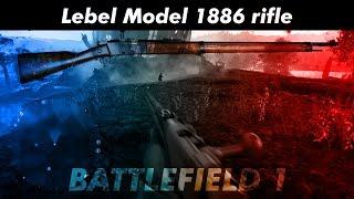 """Lebel Model 1886 rifleThe Lebel Model 1886 rifle (French: Fusil Modèle 1886 dit """"Fusil Lebel"""") is also known as the """"Fusil Mle 1886 M93"""", after a bolt modification was added in 1893. It is an 8 mm bolt action infantry rifle that entered service in the French Army in 1887. It is a repeating rifle that can hold eight rounds in its forestock tube magazine, one round in the transporter plus one round in the chamber. The Lebel rifle has the distinction of being the first military firearm to use smokeless powder ammunition. The new propellant powder, """"Poudre B,"""" was nitrocellulose-based and had been invented in 1884 by French chemist Paul Vieille. Lieutenant Colonel Nicolas Lebel contributed a flat nosed 8 mm full metal jacket bullet (""""Balle M,"""" or """"Balle Lebel""""). Twelve years later, in 1898, a solid brass pointed (spitzer) and boat-tail bullet called """"Balle D"""" was retained for all 8mm Lebel ammunition. Each case was protected against accidental percussion inside the tube magazine by a primer cover and by a circular groove around the primer cup which caught the tip of the following pointed bullet. Featuring an oversized bolt with front locking lugs and a massive receiver, the Lebel rifle was a durable design capable of long range performance. In spite of early obsolete features, such as its tube magazine and the shape of 8mm Lebel rimmed ammunition, the Lebel rifle remained the basic weapon of French line infantry during World War I (1914–1918). Altogether, 3.45 million Lebel rifles were produced by the three French state factories between 1887 and 1916.------------------------------------------------------------------------------------------------------------Le fusil modèle 1886, ou fusil Lebel, a été adopté par l'Armée française en mai 1887. Il a été très largement utilisé comme fusil d'infanterie jusqu'aux lendemains de la Première Guerre mondiale, à un moindre degré jusqu'à la Seconde Guerre mondiale puis pendant les conflits de décolonisation pour équiper les troupes"""