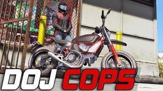 Dept. of Justice Cops #239 - Moto Vlogger (Civilian)