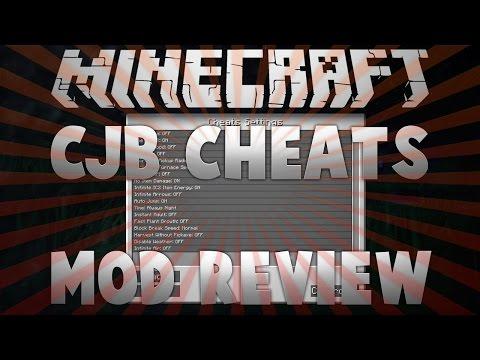 Minecraft 1.7.10: CJB Cheats Mod Review!