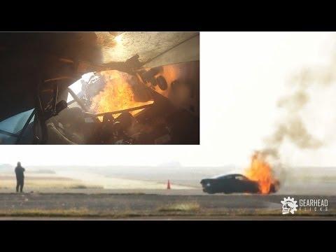 C6 Corvette Nitrous Explosion