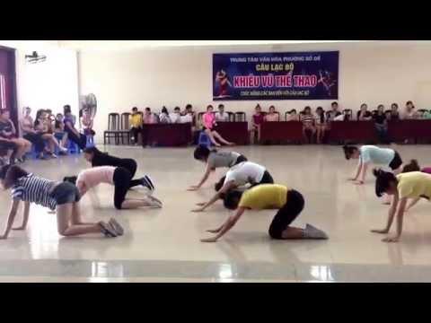 Aerobic nhi đồng quận Long Biên hè 2014