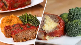Delicious Meatloaf 4 Ways •Tasty by Tasty