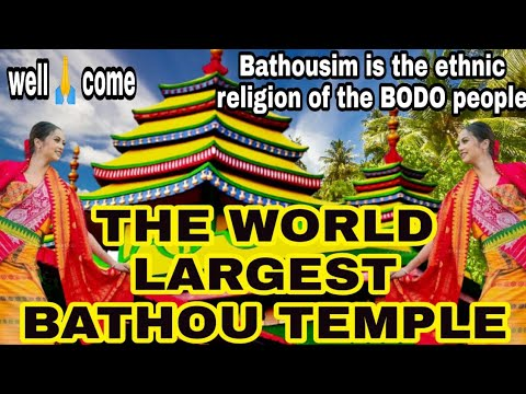 The World Largest Bathou Temple//it's amazing place//you have to visit at least one time