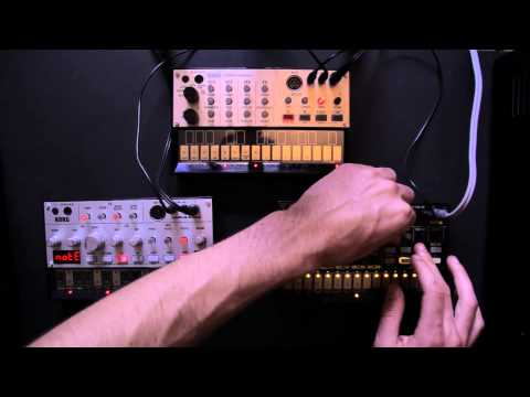 korg - Korg were kind enough to let us borrow there new Volca hardware synths, so we sent our Ableton tutor Chris Mounter home with them, to see what they are all a...