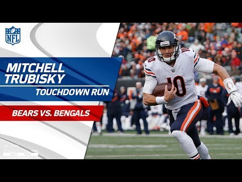 Video: Mitchell Trubisky Puts Together TD Drive to Extend Lead vs. Cincy! | Bears vs. Bengals | NFL Wk 14