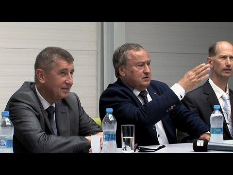 Náhled - Mohelnický Montix uvítal Andreje Babiše
