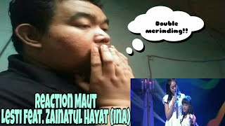 Video [Reaction] Merinding!! Lesti feat. Zainatul Hayat (Ina) - Si Kecil (DAA4) MP3, 3GP, MP4, WEBM, AVI, FLV Maret 2019
