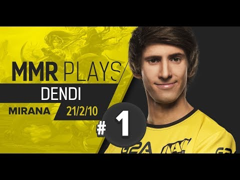 MMR Plays: Dendi on Mirana vol. 1