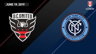 D.C. United vs. New York City FC | HIGHLIGHTS - June 19, 2019 by Major League Soccer