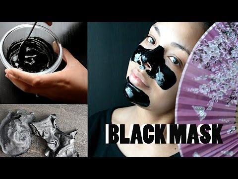RECETTE MASQUE NOIR  - BLACK MASK RECIPE