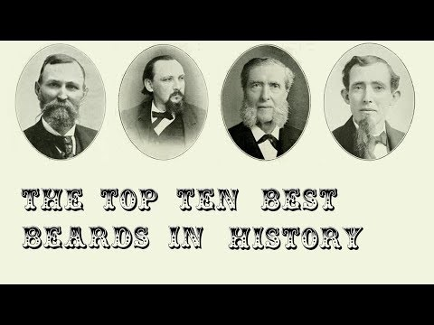 Beard styles - The Top 10 Best Beards in History