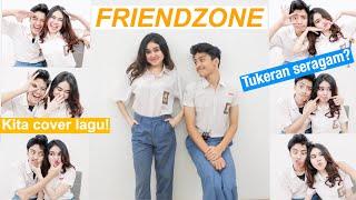 Video JATUH CINTA SAMA SAHABAT (Friendzone) | Tukeran Seragam + Cover Lagu MP3, 3GP, MP4, WEBM, AVI, FLV September 2019